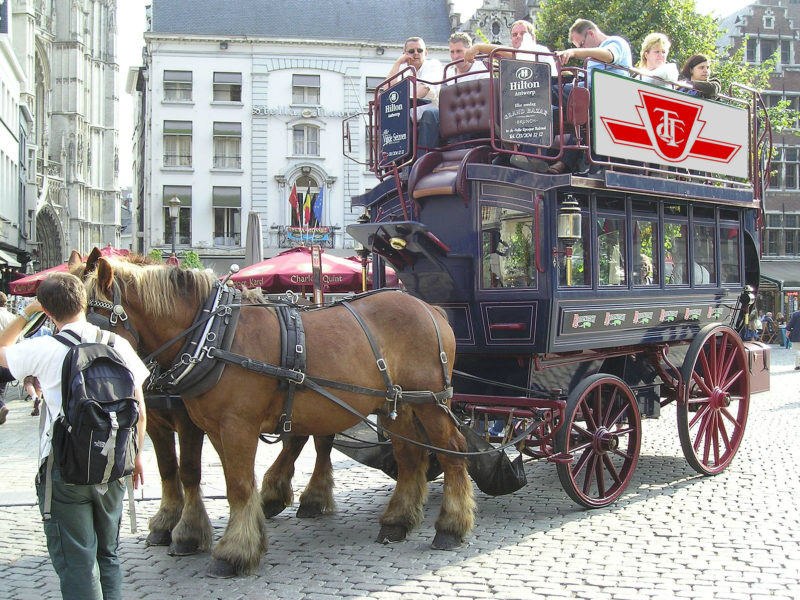 TTC Alerts Wikipedia: Bombardier Completes First Delivery Of Horse-drawn