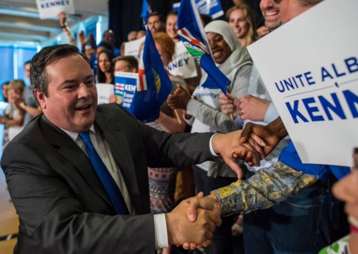 Triumphant Jason Kenney celebrates win by preemptively blaming Rachel Notley for everything that'll go wrong during his premiership