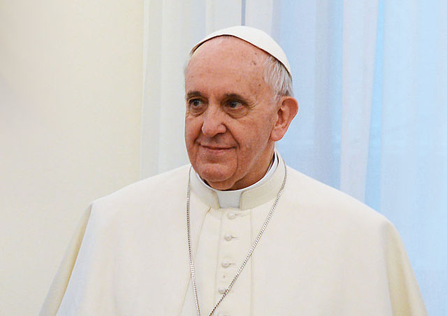 Pope Francis supports gay civil unions in an attempt to bring Catholicism into the '90s