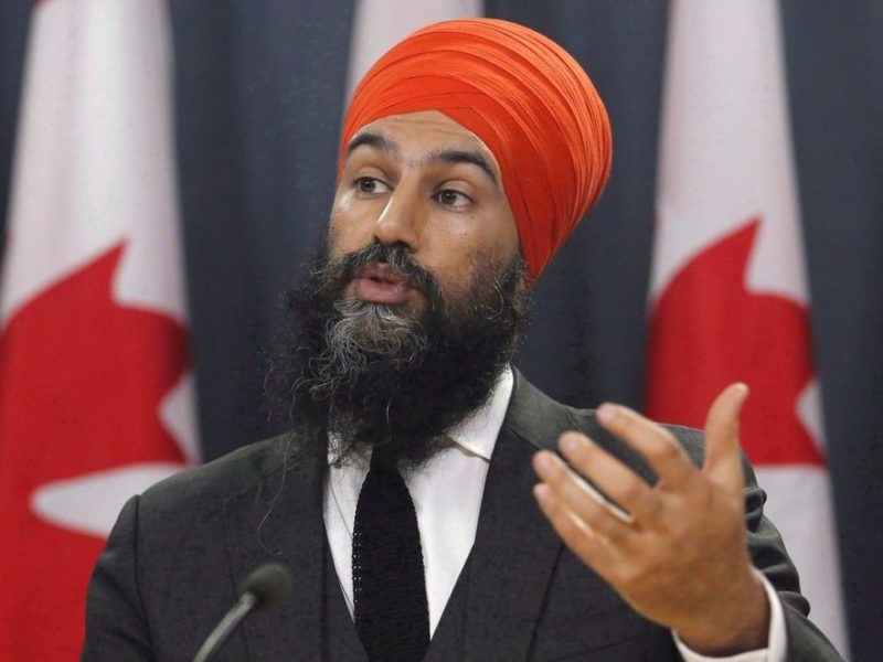 OTTAWA - NDP Leader Jagmeet Singh claimed that he has always never maybe supported fracking and the BC LNG pipeline.