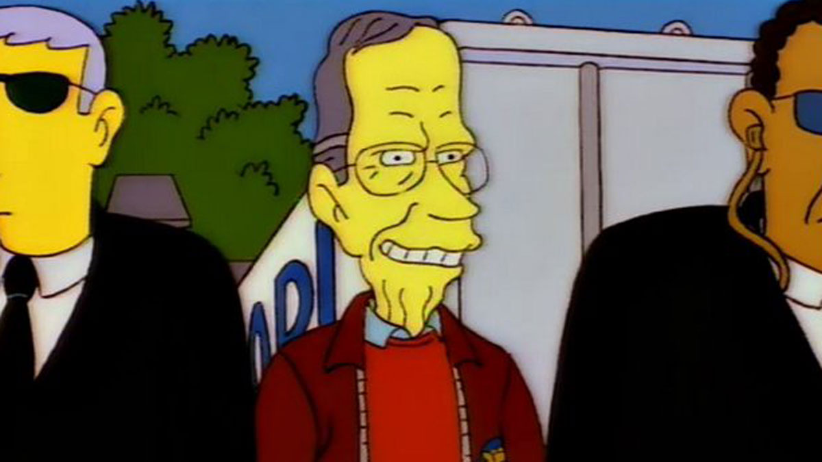 Classic Simpsons character George H. W. Bush dead at 94