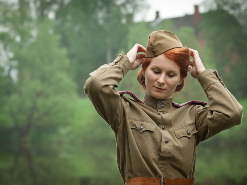 Lone actress in war drama proud to represent only woman who participated in WWII
