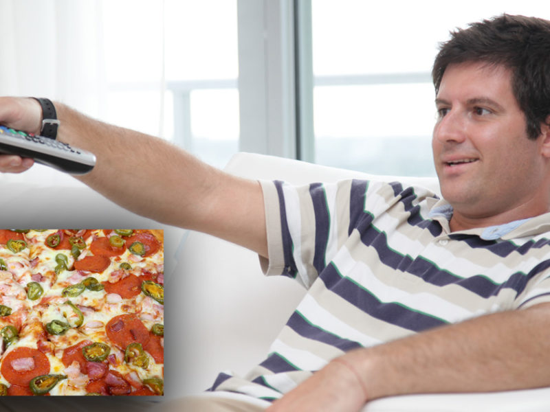 REPORT: Glen honestly believes large pizza will last him two meals