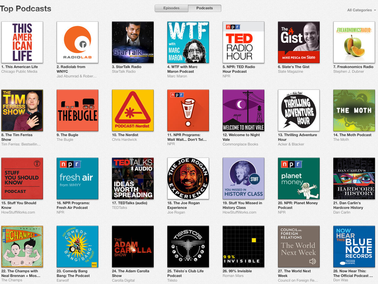 The 5 best podcasts no one cares you're listening to