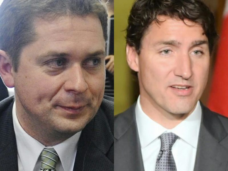 Scheer and Trudeau denounce new crop of deepfakes that show them taking the climate crisis seriously - The Beaverton