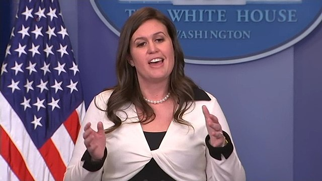 Sarah Sanders looking forward to spending more time lying to her family