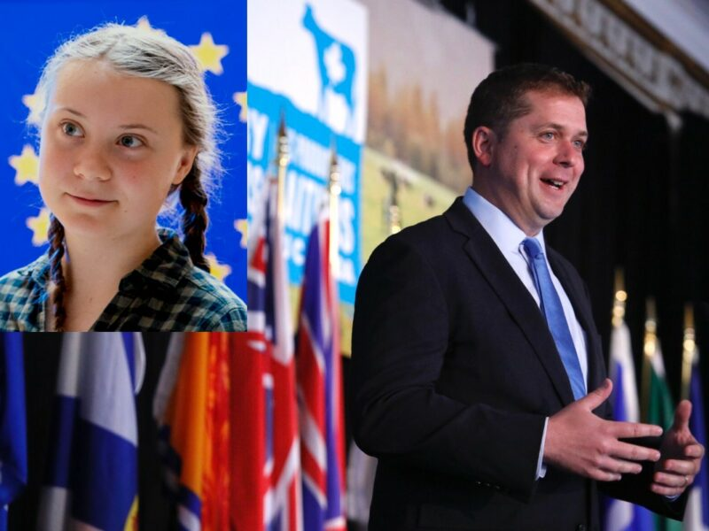 Scheer not attending climate strikes fearing presence of 16-year-old girl