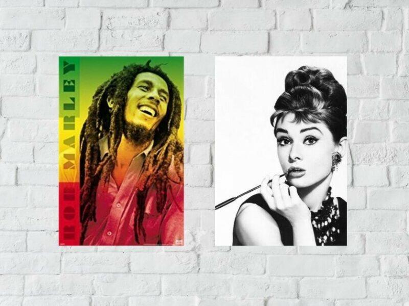 Mazel tov! Audrey Hepburn poster weds Bob Marley poster - The Beaverton