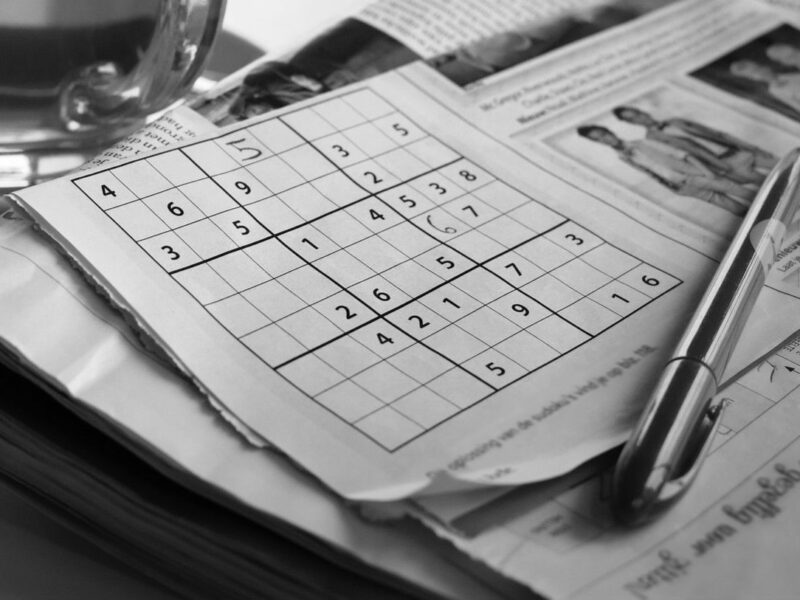 Sudoku player goes on wild ride after placing two 7s in the same column - The Beaverton