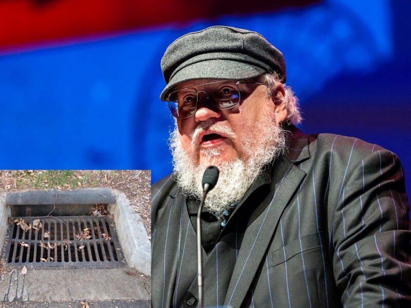 George RR Martin confesses he lost next Game of Thrones book down a storm drain