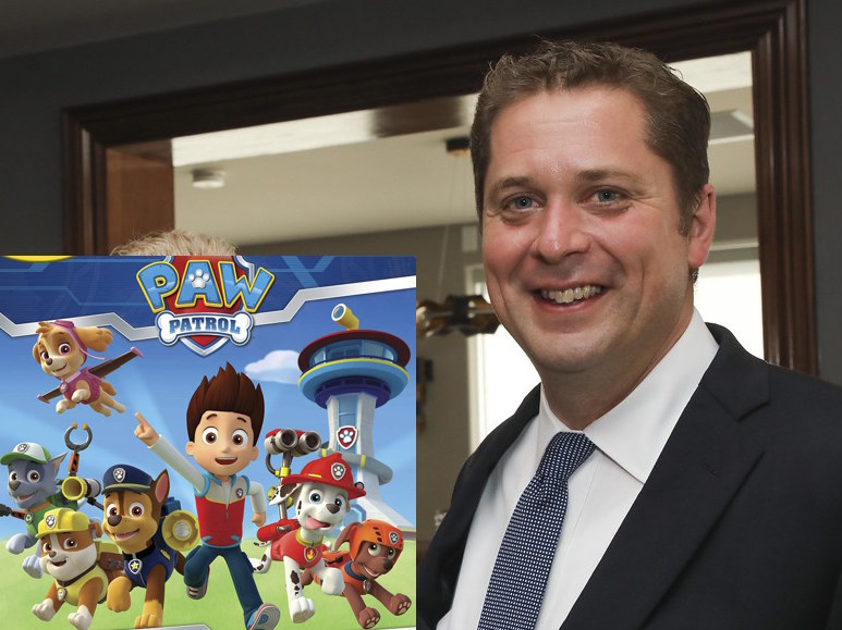 Horrified Conservative Party realizes they never told Scheer he was fired