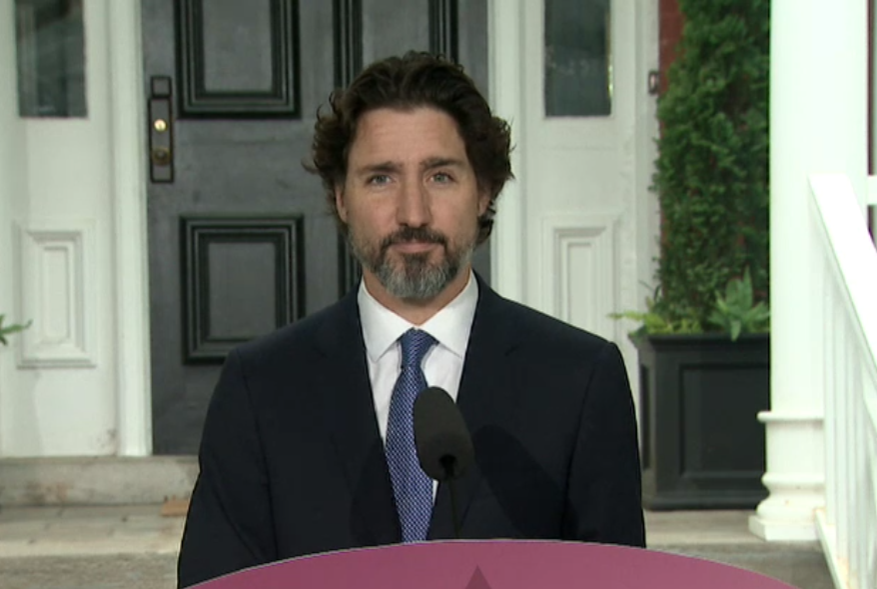Justin Trudeau still pausing