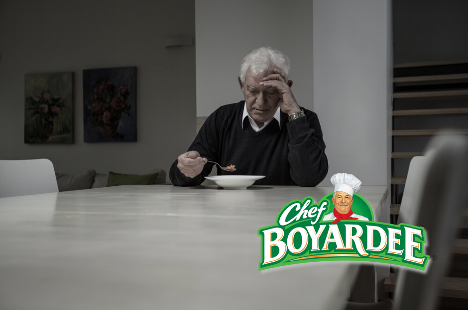 "Chef Boyardee rebrands to ""Depression Chow"""