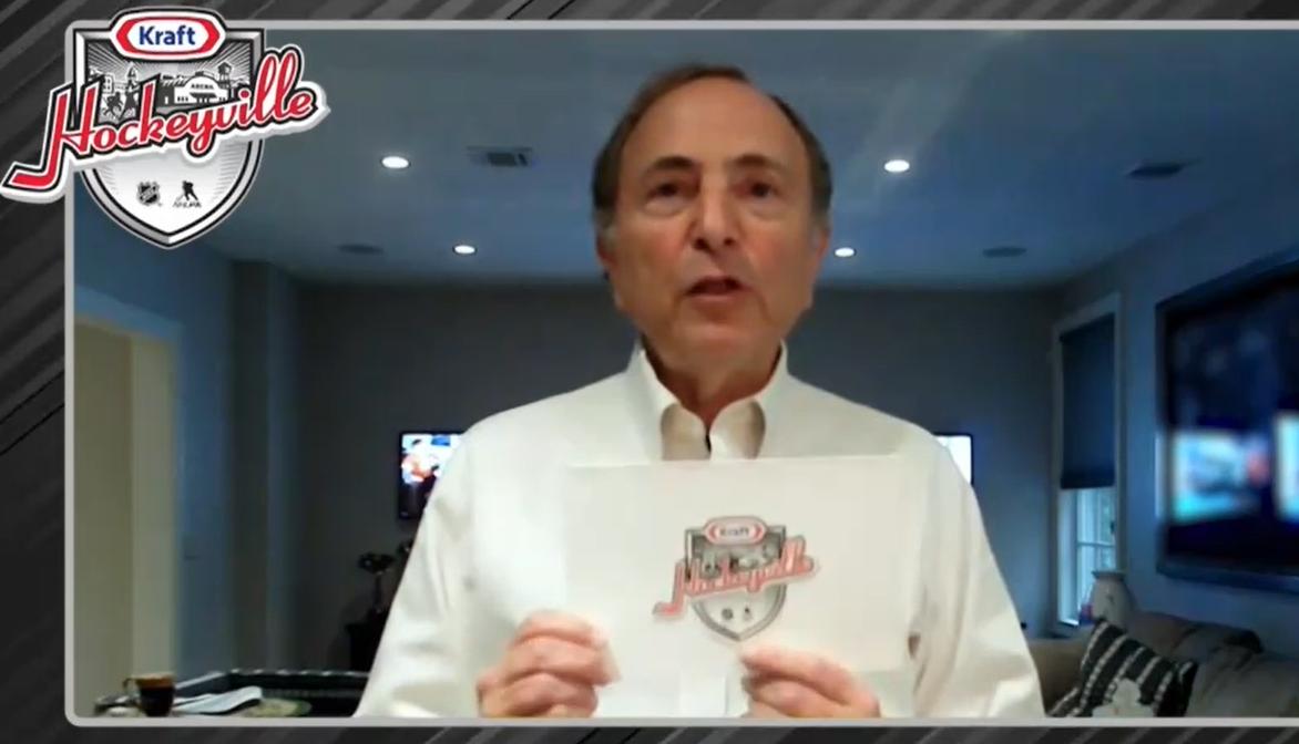 Gary Bettman announces Kraft Hockeyville winner will go to a town in US Southwest instead