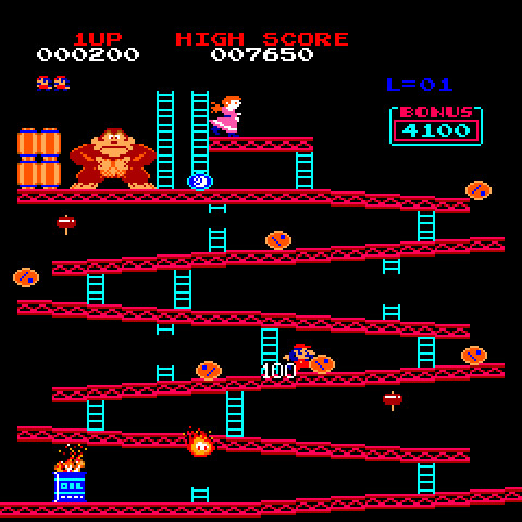 Some of Mario's friends still haven't forgiven Donkey Kong for the barrel throwing years