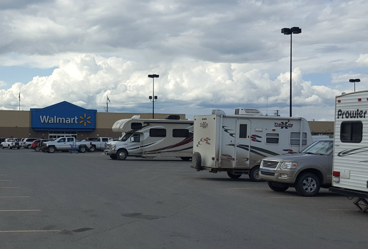 wal mart parking lot in whitehorse newest campground in yukon wal mart parking lot in whitehorse newest campground in yukon
